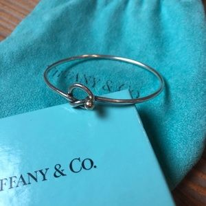 Tiffany Knot Wire Bracelet